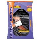 WM Simoniz Protectant Glove Wipes (24 per doos, 3 per verpakking hersluitbaar)