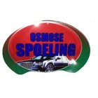 "WM Oval Sign: ""Osmose Spoeling"""