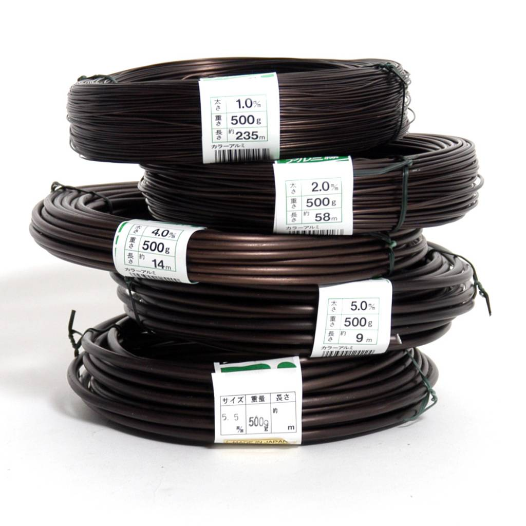Aluminum Wire 500 Gr Bonsaiplaza Copper To Wiring