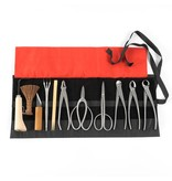 Expert 12-piece stainless steel tool set based