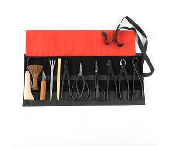 Basic 12-piece steel tool set based