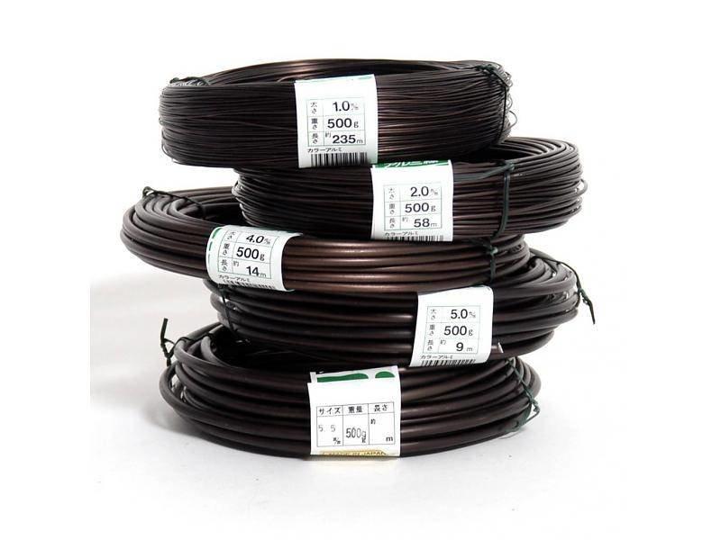500 gramos de alambre de aluminio de 2,5 mm