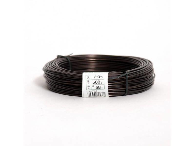 500 Gramm Aluminiumdraht 2,5 mm