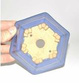 Cuadrado, de 6 cm x 11 cm, Hattory Tokoname
