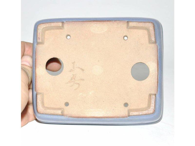 Bonsai Topf hellblau 13,5 cm