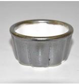 Bonsai pot grigio 5,5 cm