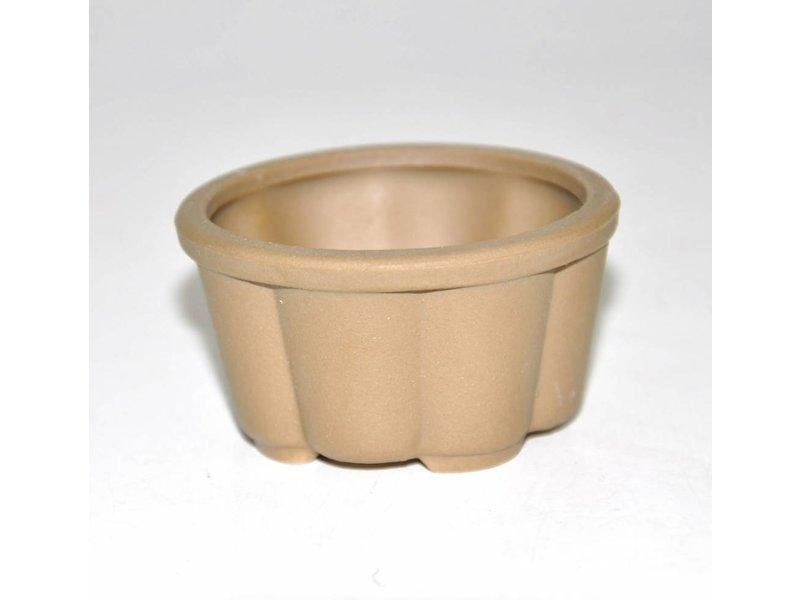 Bonsai Topf braun 5,7 cm