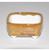 Bonsai pot light brown 5,5 cm
