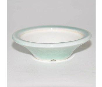 Bonsai Topf hellblau 7 cm