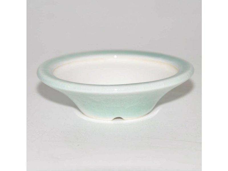 Bonsai pot light blue 7 cm