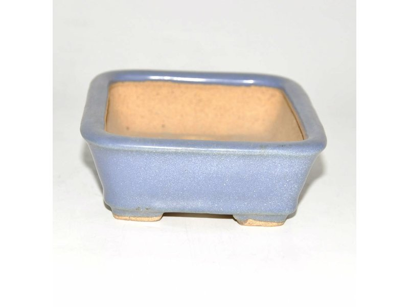Bonsai pot light blue 13,5 cm
