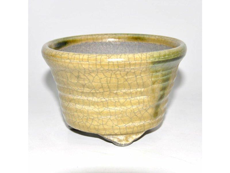 Bonsai Topf gelb 12,5 cm