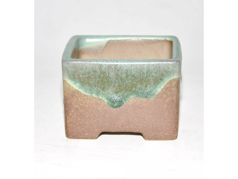 Bonsai pot brown 6,5 cm