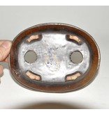 Oval braun Bonsai Topf 14,7 cm