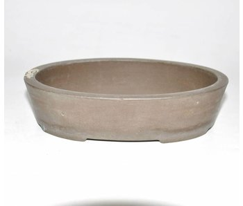 Oval Brown, Yamaki bonsai pot 16,5 cm