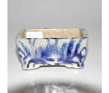 Rectangular pot, white