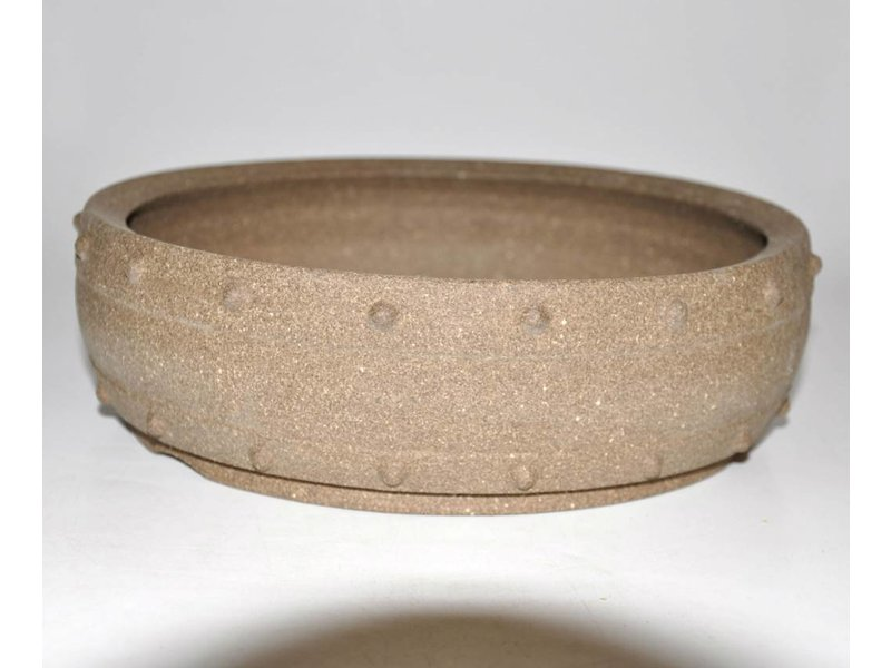 Bonsai pot brown 25 cm