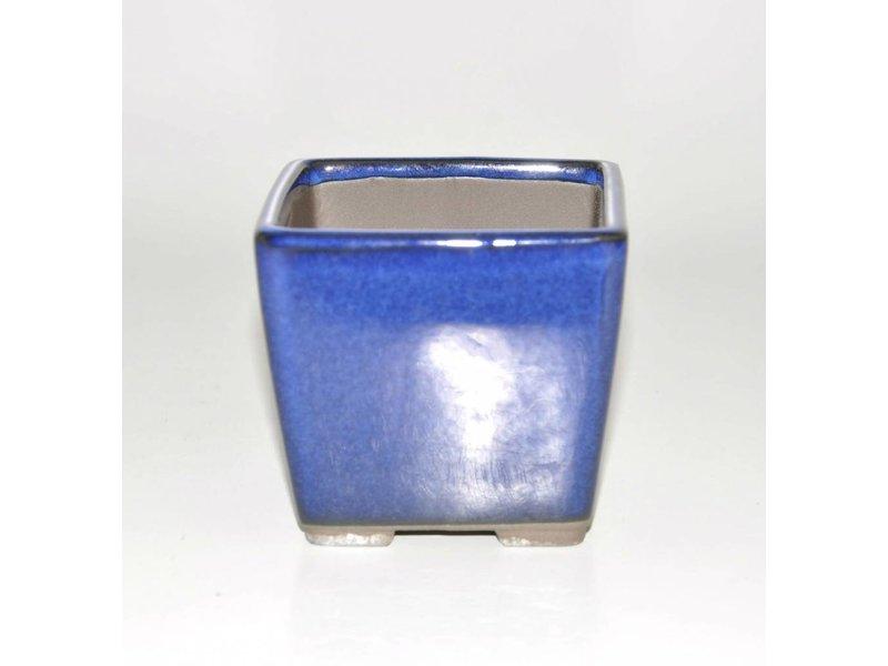 Bonsai crisol azul de 9 cm Seto Yaki