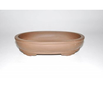 Bonsai pot brown 23 cm