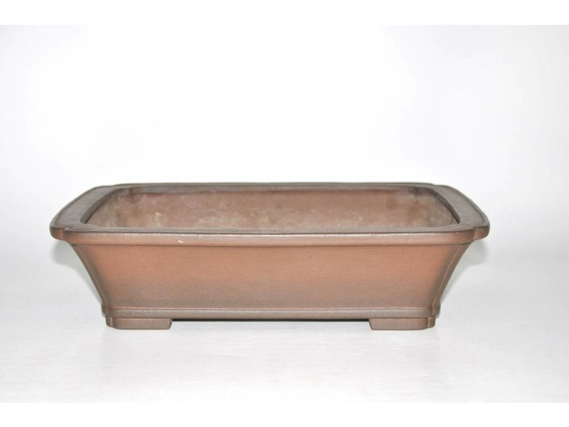 Bonsai pot marrone 34,5 cm