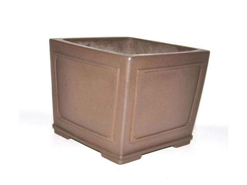 Bonsai pot marrone 24 cm