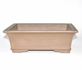 Bonsai pot brown 32,5 cm