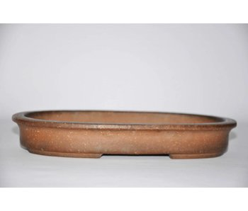 Oval Nakawatari bonsai pot