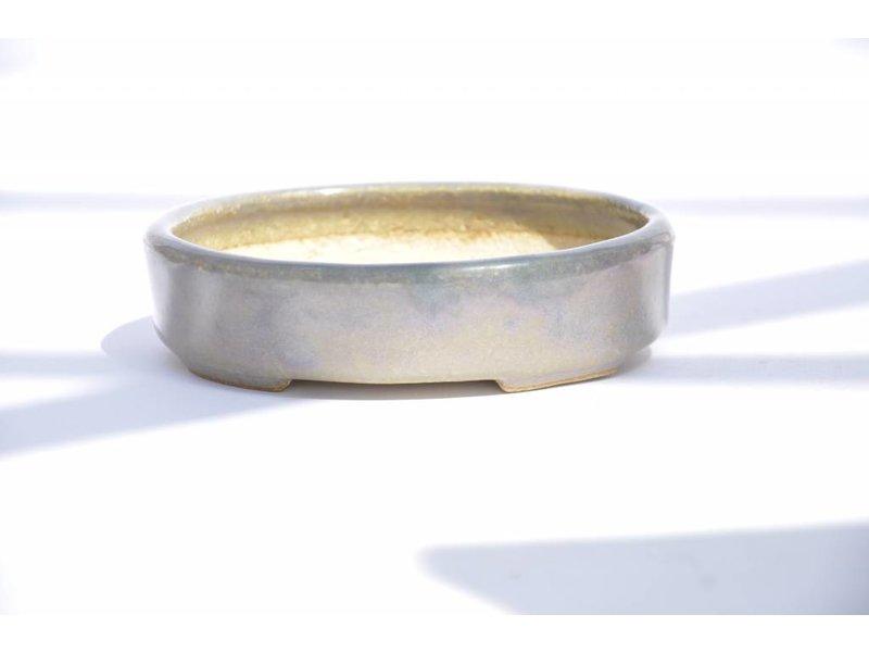 Oval 130 mm x 105 mm Hattory Tokoname