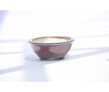 Vaso rotondo, 4,5 cm Eimei, Yozan