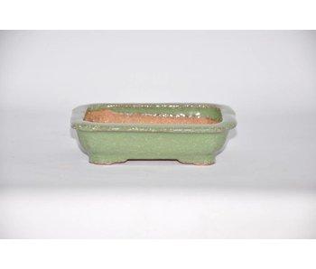 Rectangular pot, 3,8 cm, Hattory Tokoname