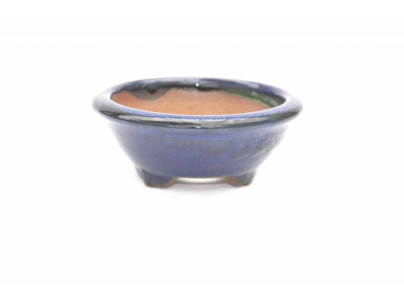 Round pot 4 x 10 x 10 cm , Youzan, Emei Japan