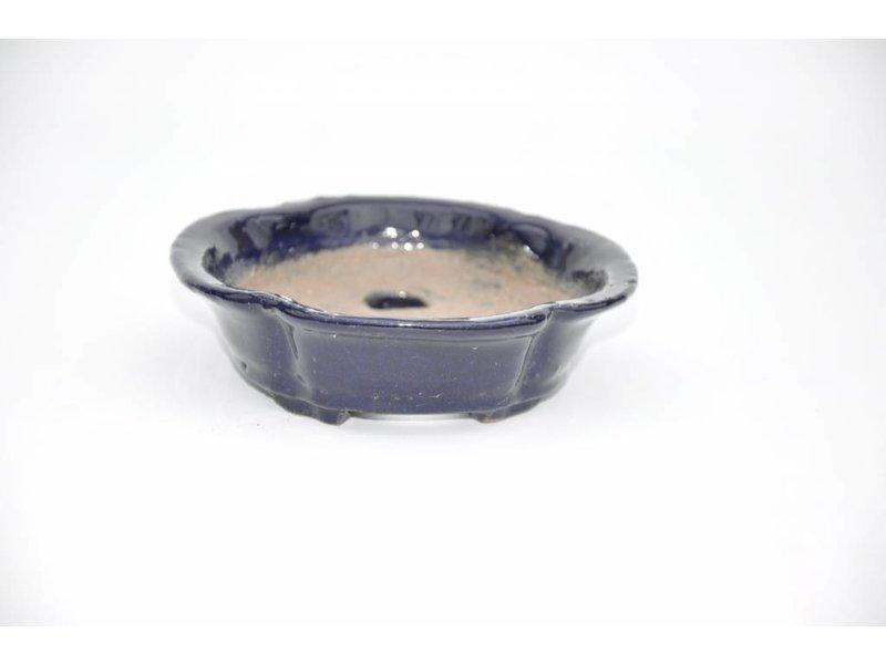 Oval Shuhou 14 cm Tokoname Topf.