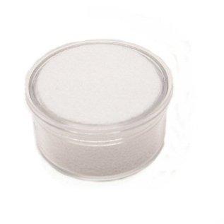 plastic box round for gemstones, 32mm diameter