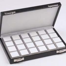 Gemstone case content 24 boxes, half size