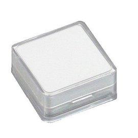 Kunststoffdose für Edelsteine
