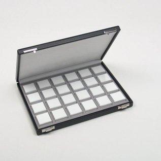 case content 24 plastic boxes for gemstones