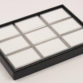 sliding tray content 9 plastic boxes