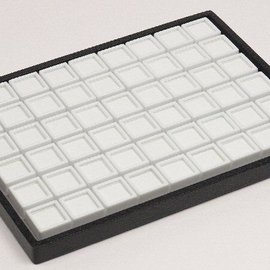 sliding tray content 54 glass lid boxes