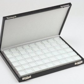 case content 54 glass lid boxes