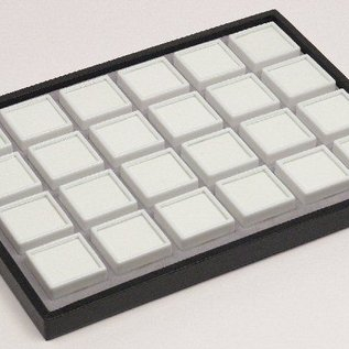 sliding tray content 24 glass lid boxes