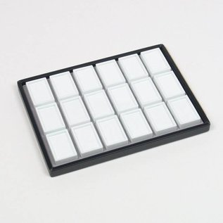 sliding tray content 18 glass lid boxes