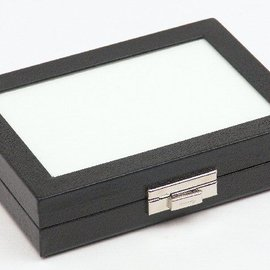 Universal case with glass lid 1/4