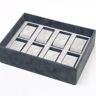 Stacking tray for 8 watches