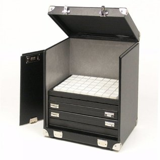 Sample case for 12 stacking trays or 10 cases
