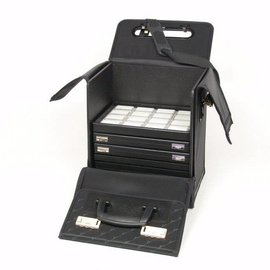 Sample case for stacking trays or cases