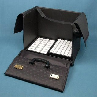 Sample case double for stacking trays