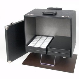 Sample case with cart