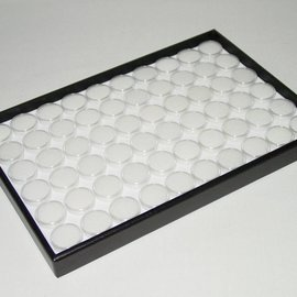 Stacking tray with 60 boxes