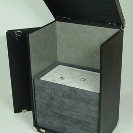 Sample case for stacking trays high KL