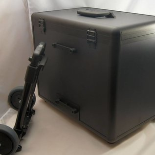 Aluminium Doppelkoffer mit Caddy